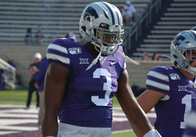 John Holcombe appears to have separated himself as K-State's No. 2 QB ahead of Nick Ast.