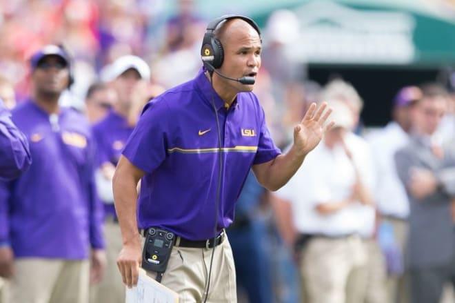 Aranda leaving LSU to become Baylor's coach