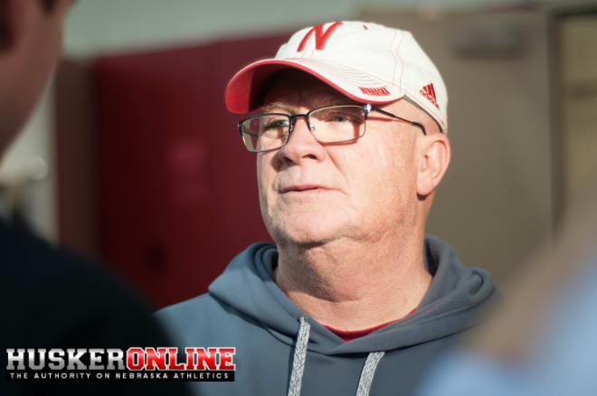 Offensive Line coach Mike Cavanaugh