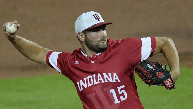 IU junior pitcher Pauly Milto recorded his shortest start of the season Friday evening, as he was credited with the loss to Iowa.