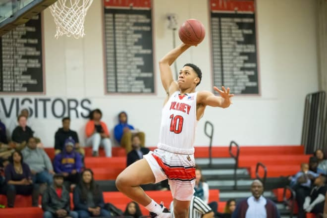 Dulaney (MD) High School Junior Che Evans in action during a game last season