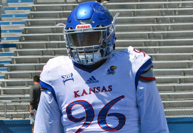 competitive price 413f1 a5276 JayhawkSlant - Position group breakdown: The defensive line
