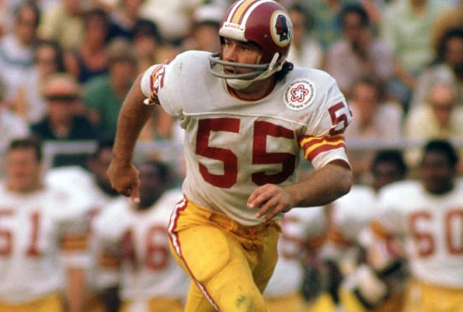Hanburger with the Redskins.