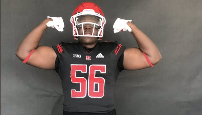 TheKnightReport - St. Peter's Prep DL Isaiah Wright talks Rutgers commitment