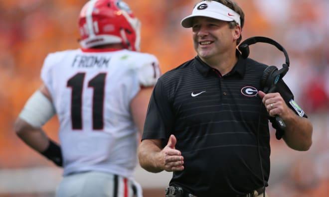 Dan Mullen needs to be careful not to get Kirby Smart's goat.