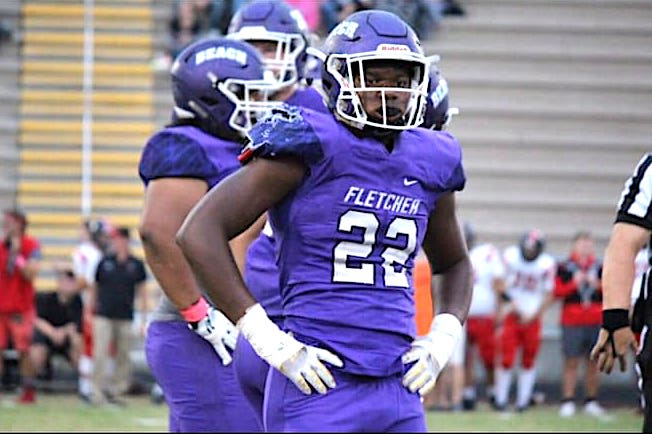 Fletcher High linebacker Aaron Hester has deep family roots in both collegiate and NFL football.