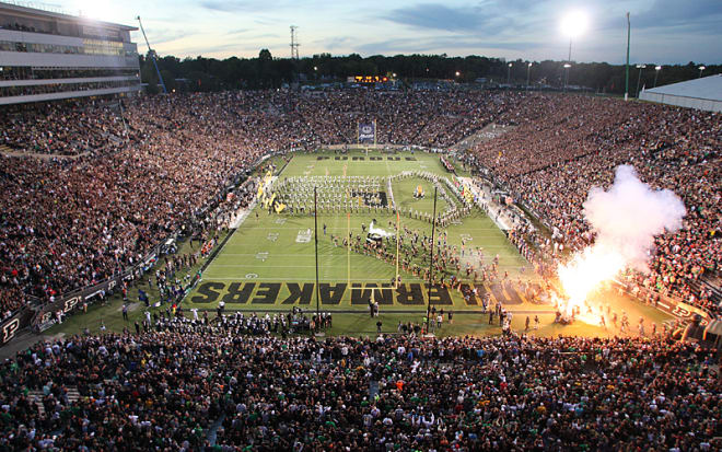 Image result for purdue football night