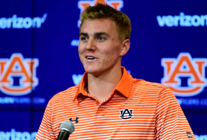 True Freshman Bo Nix Named Auburn Starting Quarterback
