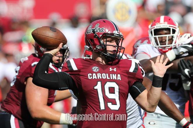 South Carolina QB Jake Bentley not expected to start vs. Missouri