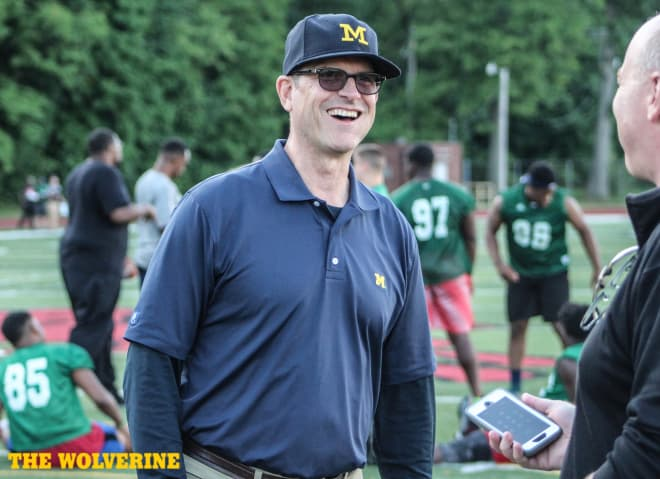 Michigan landed three New England recruits last year.