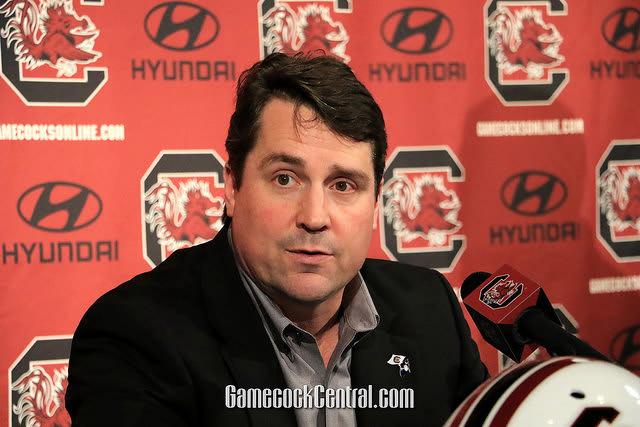 South Carolina Gamecocks football coach Will Muschamp on Tennessee Volunteers
