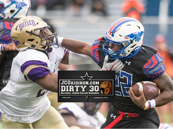 Hutchinson stiff-arms Butler to take over No. 1 in the Dirty 30 Rankings