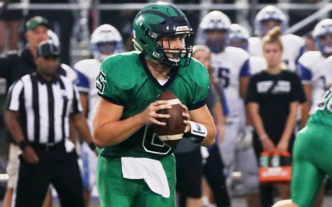 Graham Walker has thrown for 19 touchdowns and run for another 13 for Woodgrove this year