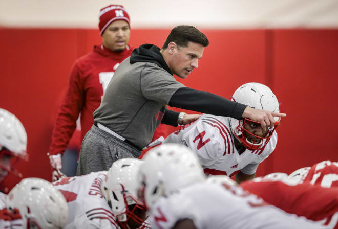Defensive coordinator Bob Diaco will work heavily with NU's linebackers.