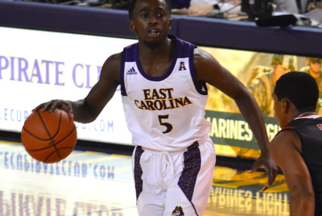 Freshman guard Logan Curtis poured in 18 points to lead ECU in a 99-89 loss at James Madison on Saturday.