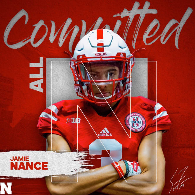 2019 Blanchard, Okla. wide receiver committed to Nebraska on Friday night over Notre Dame, TCU and many others.