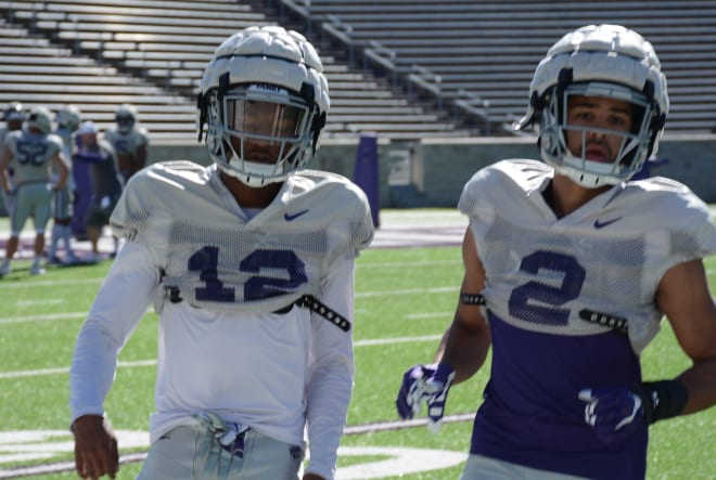 A.J. Parker and Lance Robinson could be K-State's two starting cornerbacks.