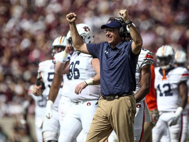 Is Gus Malzahn affecting the school's ability to raise money for capital projects?