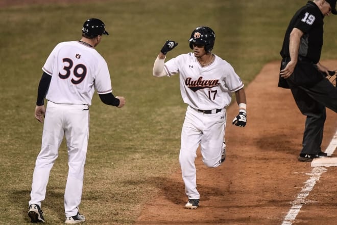 No. 18 Auburn baseball swept by No. 5 Ole Miss