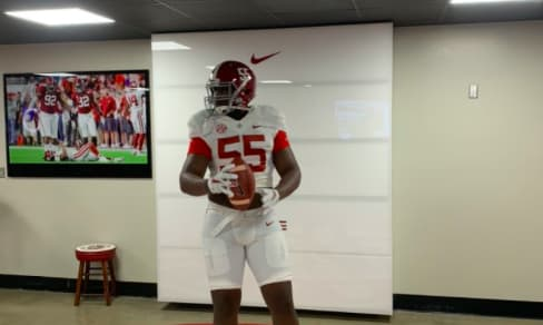 Anquin Barnes attended Alabama's Junior Day earlier this month.