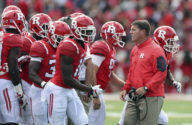 Rutgers head coach Chis Ash hopes he can take a step forward in 2017 after an 0-9 season in the Big Ten in 2016.