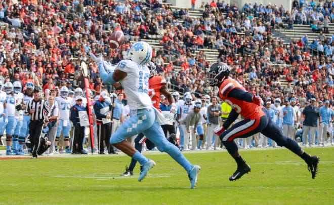 Newsome at Virginia last fall.