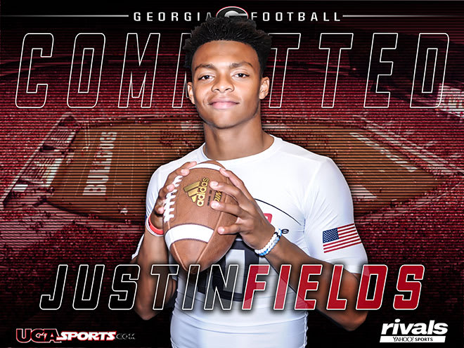 who does justin fields play for