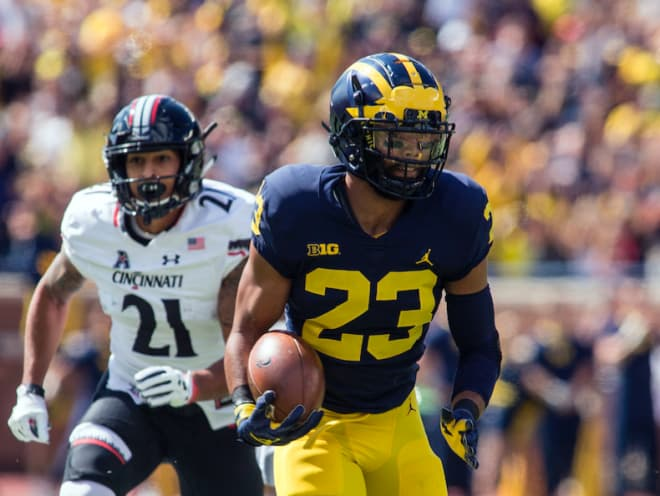 Junior safety Tyree Kinnel won his first Big Ten Defensive Player of the Week award on Monday.