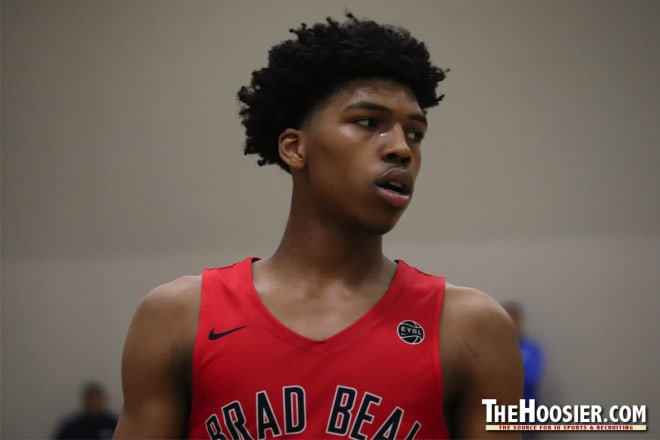 2020 4-star point guard and national top 40 prospect Caleb Love is one of several IU targets scheduled to be in action today.