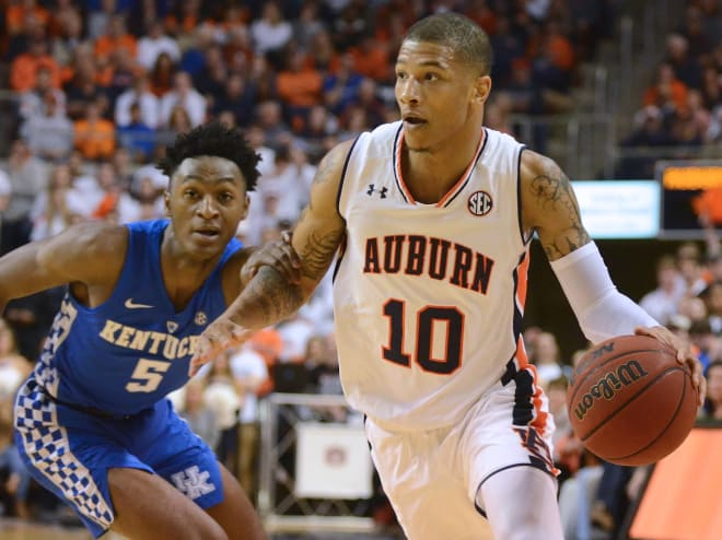 No. 14 Auburn falls to No. 12 Kentucky 82-80