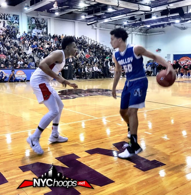 Etienne had double duty, often defending against Molloy's Cole Anthony