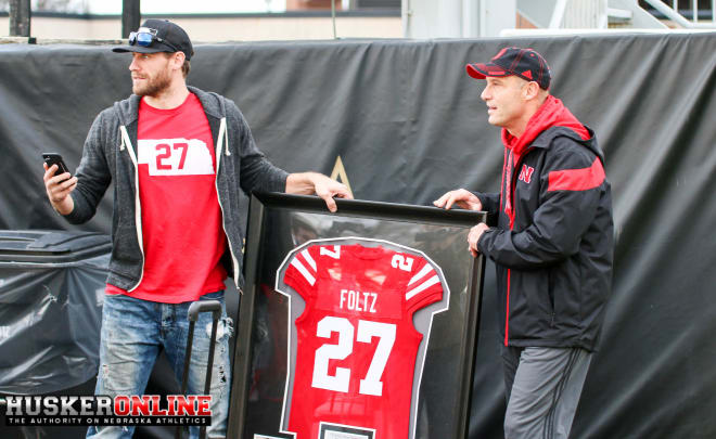 Country music star Chase Rice and Mike Riley