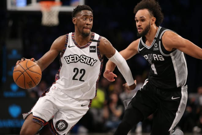 Brooklyn Nets guard Caris LeVert was a first-round pick in the