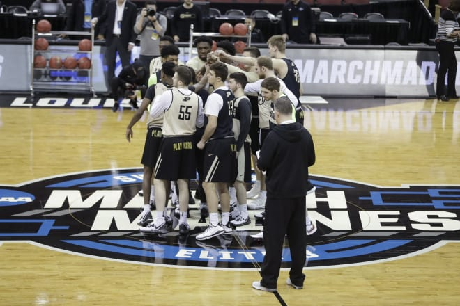 National Basketball Association  players were blown away by the phenomenal Purdue-Virginia game