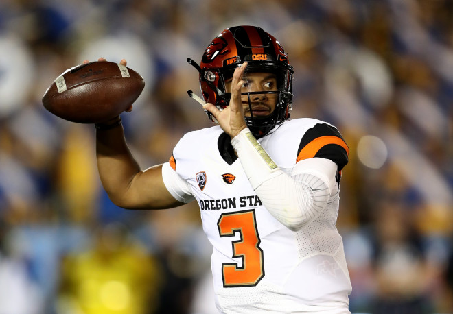Marcus McMaryion, who finished last season as Beavers' starting QB, to transfer