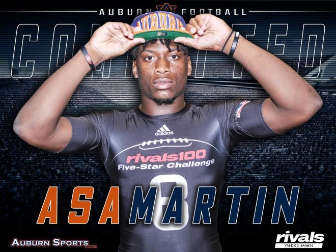 No. 7 RB commits to Auburn