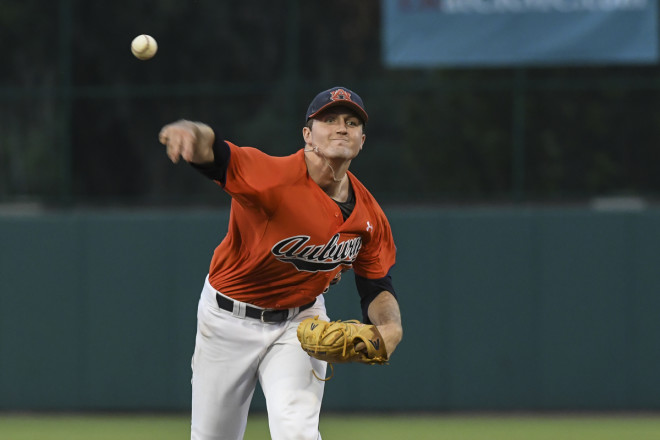 Auburn's Thompson strikes out 9 in 7-4 victory over UCF