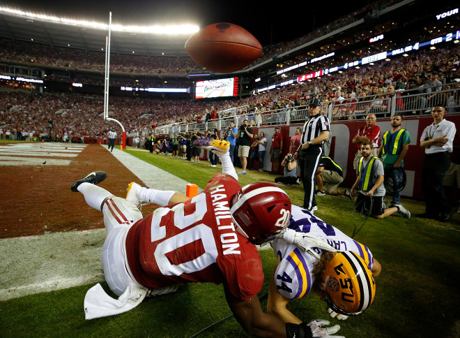 No. 1 Alabama loses linebackers Hamilton, Wilson to injuries