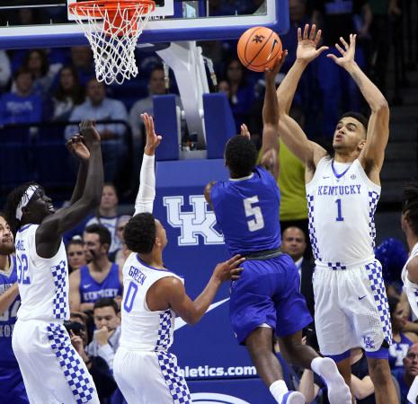 Kentucky beats Morehead State in Kentucky Cares Classic