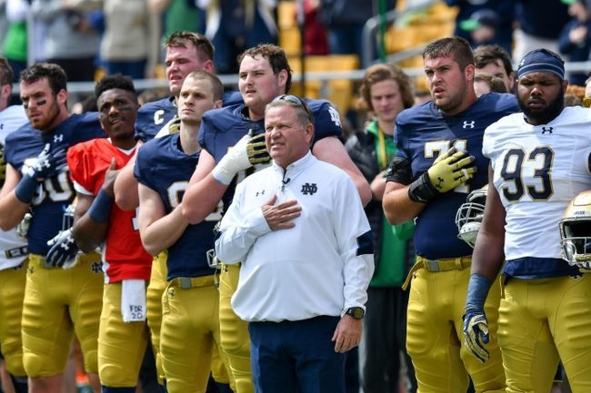 Notre Dame's Recruiting Mail Suggests Team Will Win National Title In 2019