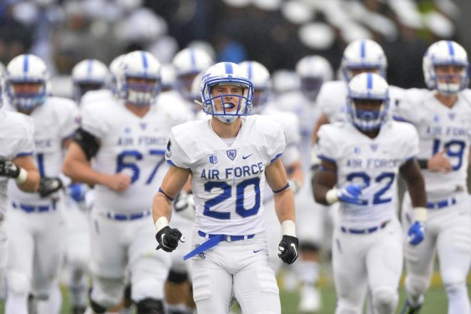 Air Force Drops 29-13 Contest at #7 MI