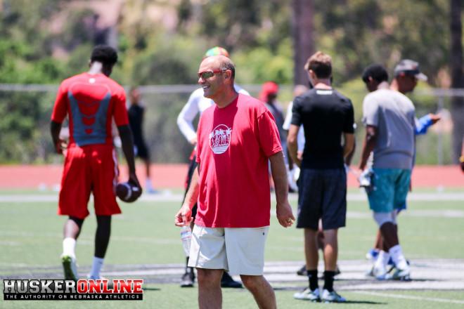 Nebraska head coach Mike Riley