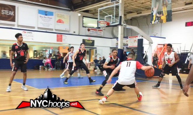 at the island garden nychoopsnet was on hand to check out the 16u and 17u division i contests where teams jockeyed for position in the aau nationals - Island Garden Basketball
