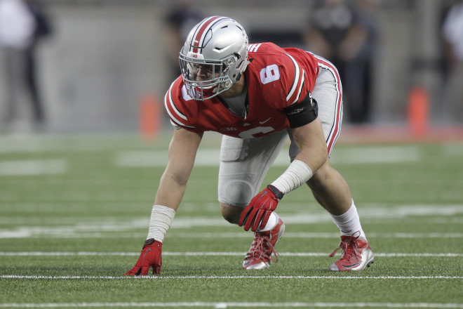 Ohio State lost a star in Joey Bosa, but Sam Hubbard (above) and Tyquan Lewis look to be ready to fill his shoes.