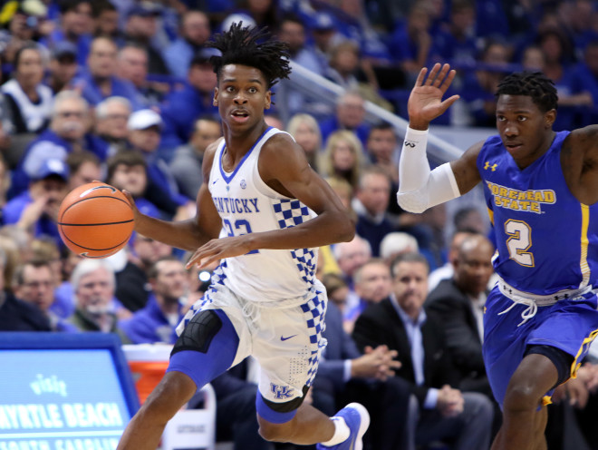 Kentucky beats Morehead State in Kentucky Cares Classic
