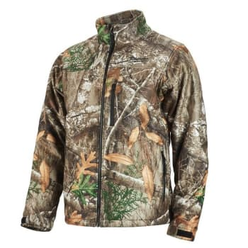 0a60b603 Milwaukee Men's XL M12 12 Volt Lithium-Ion Cordless RealTree Camo Heated  Jacket Kit with