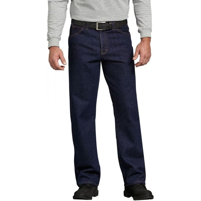 f1357fd6e Dickies Men's Regular Straight Fit 5-Pocket Denim Jeans 9393RNB