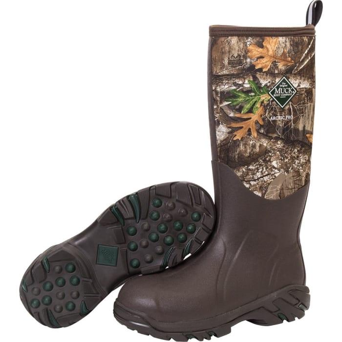 929e627a7a1 Muck Men s Realtree Edge Arctic Pro Boots ACP-RTE-MO