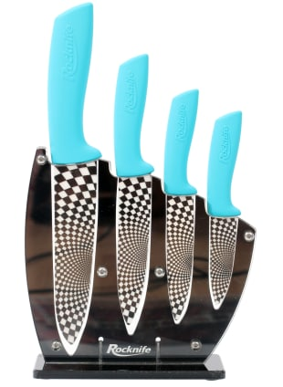 Aqua Blue Cermainc Knife Set