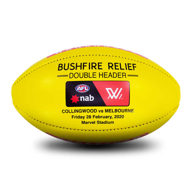 AFLW Bushfire Relief Game Ball
